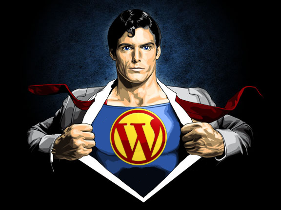 WordPress is Superman!